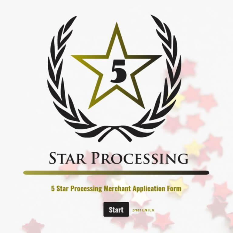 5 Star Processing logo